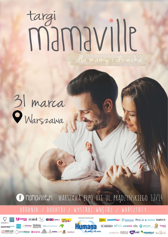 Targi Mamaville w Warszawie 31 marca 2019                         title=