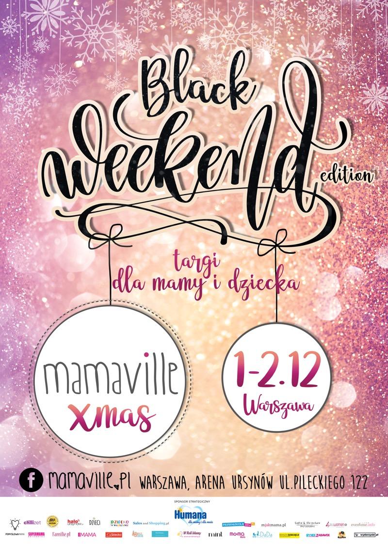 Targi Mamaville w Warszawie 1-2 grudnia 2018