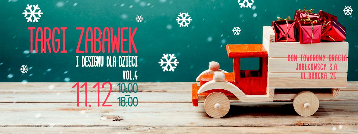 Targi zabawek i designu dla dzieci w Warszawie 11 grudnia 2016