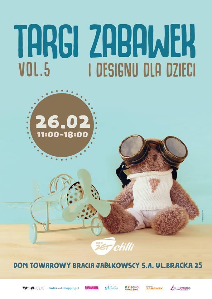 Targi zabawek i designu dla dzieci w Warszawie 26 lutego 2017