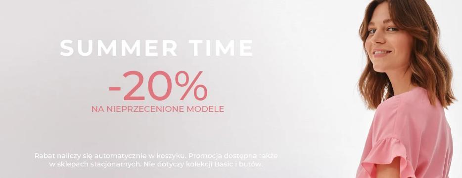 Tatuum: 20% rabatu na nieprzecenione modele odzieży damskiej oraz męskiej