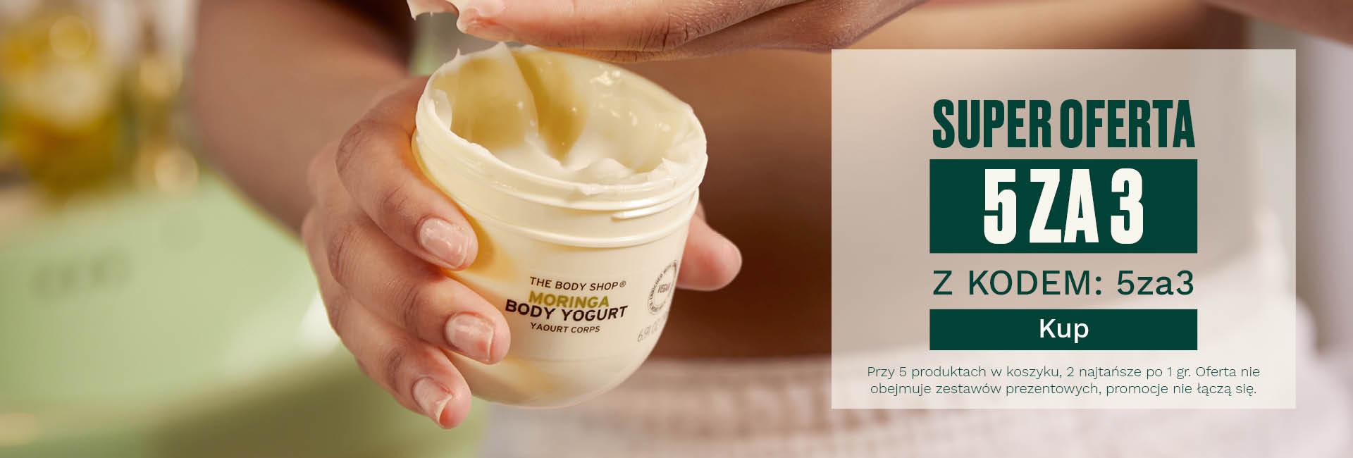 The Body Shop The Body Shop: przy zakupie 5 produktów 2 najtańsze otrzymasz po 1 grosz