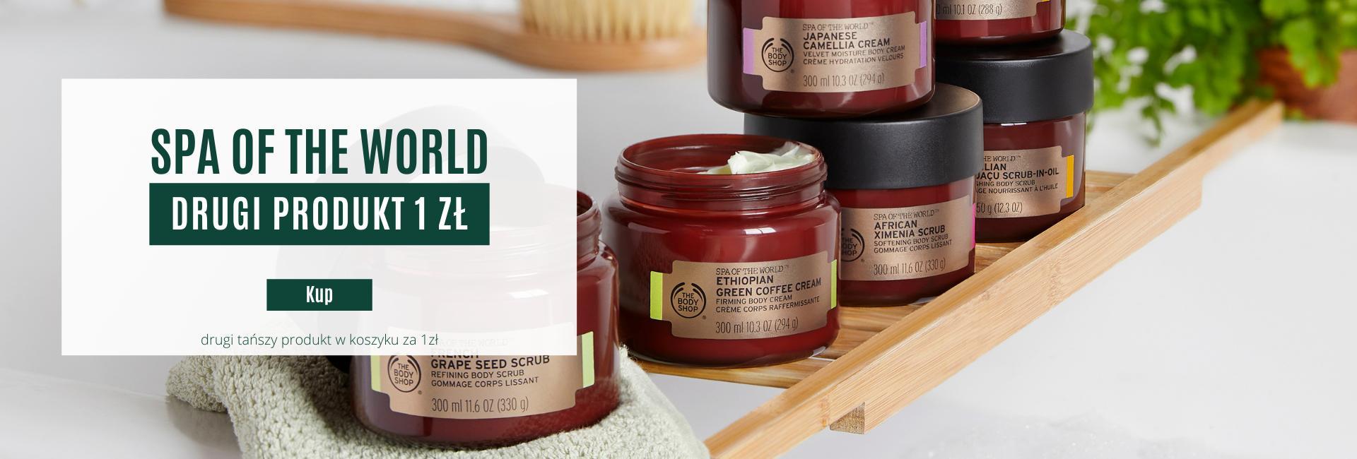 The Body Shop: drugi produkt z serii Spa of The World za 1 zł