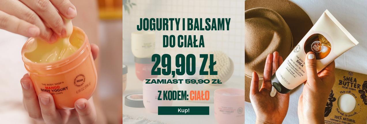 The Body Shop The Body Shop: jogurty do ciała zamiast za 59,90 kupicie za 29,90 zł