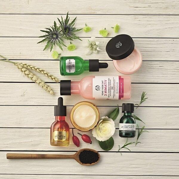 The Body Shop: do 50% zniżki na wybrane kosmetyki do pielęgnacji twarzy i ciała                         title=