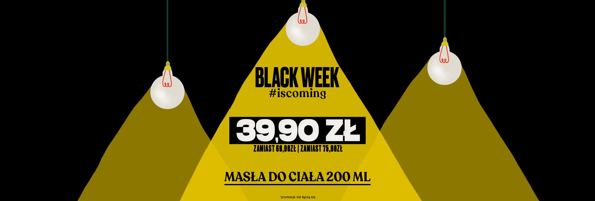 The Body Shop: Black Week masła do ciała w cenie 39,90 zł