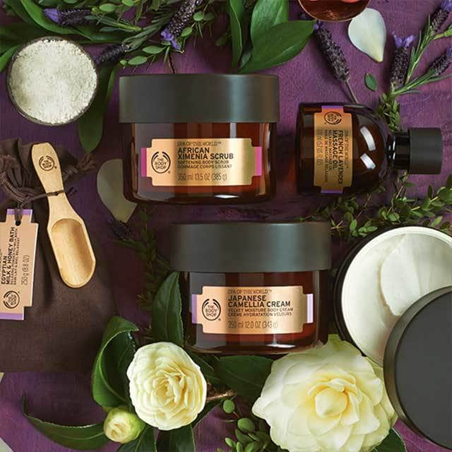The Body Shop: 40% zniżki na drugi produkt Spa of the World                         title=