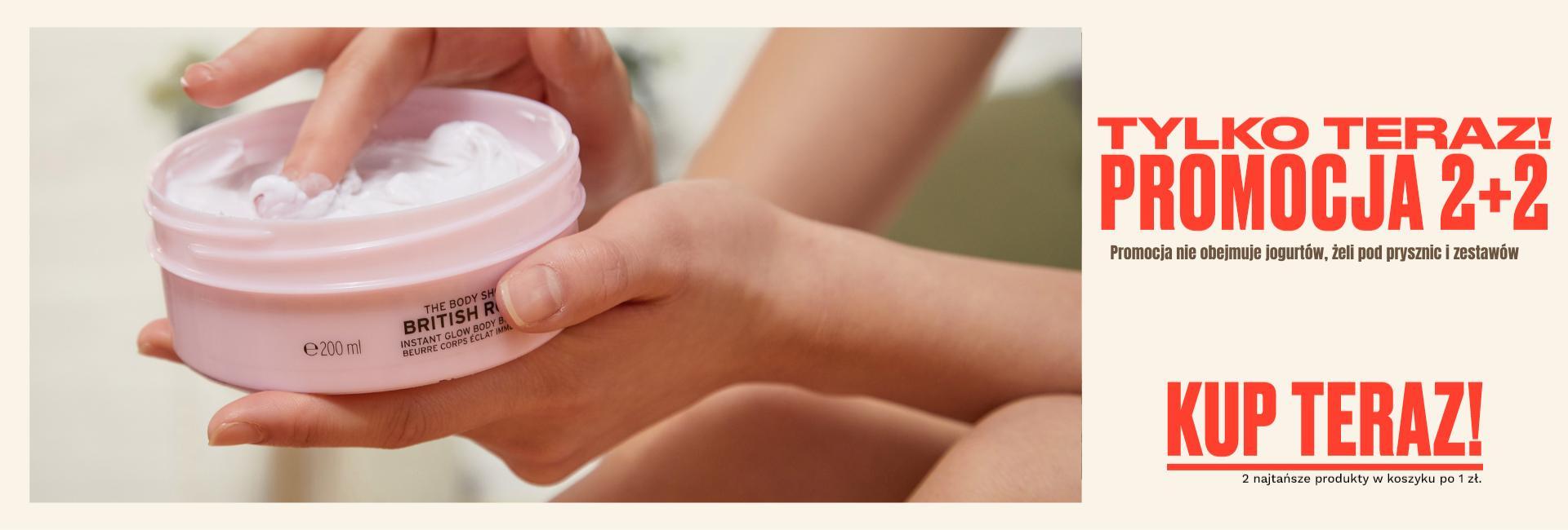 The Body Shop The Body Shop: przy zakupie 2 kosmetyków, 2 kosmetyki gratis