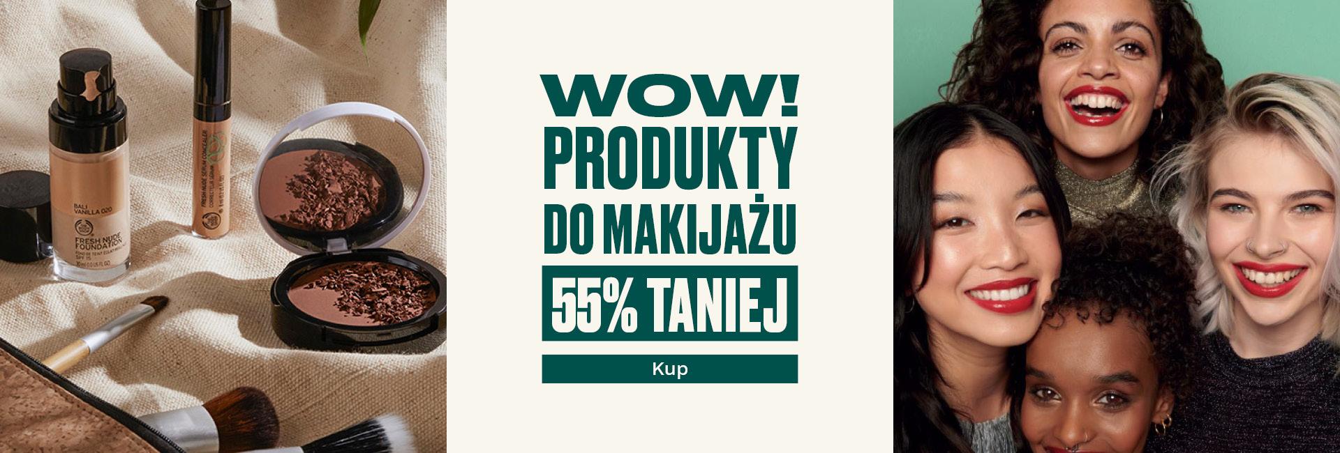 The Body Shop The Body Shop: do 55% zniżki na produkty do demakijażu