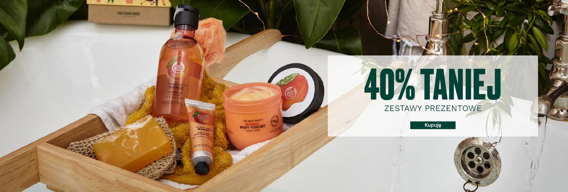 The Body Shop: promocja 40% rabatu na kosmetyki naturalne - zestawy prezentowe