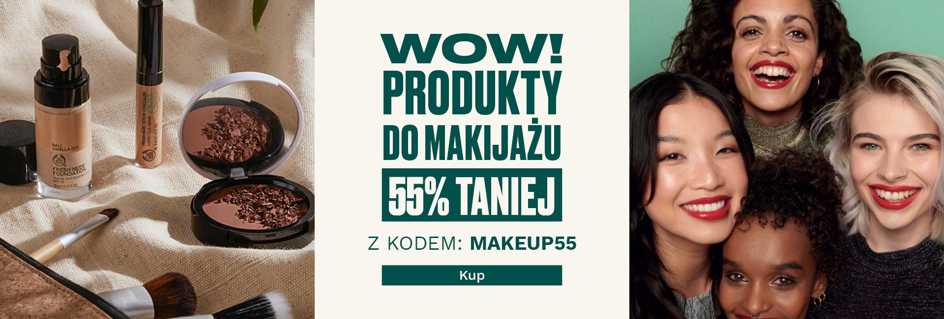 The Body Shop The Body Shop: 55% rabatu na produkty do makijażu