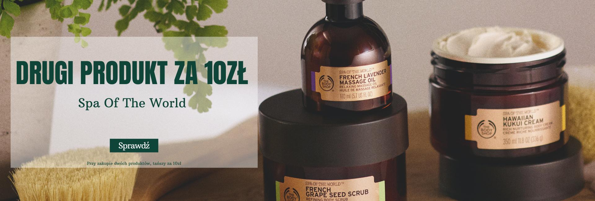 The Body Shop: drugi kosmetyk do ciała z linii Spa of the World za 10 zł