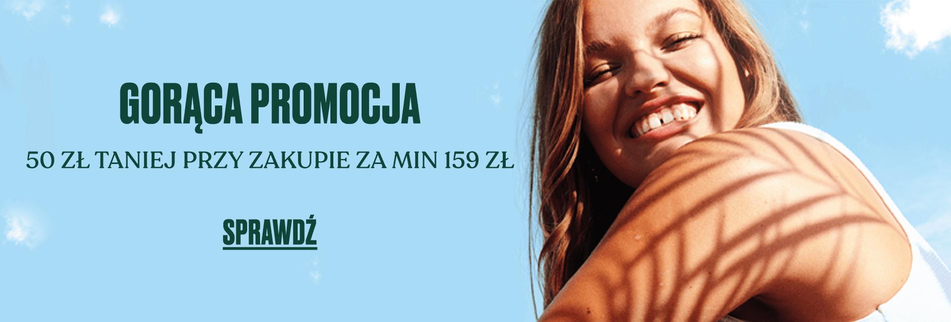 The Body Shop: 50 zł rabatu przy zakupie za min. 159 zł                         title=