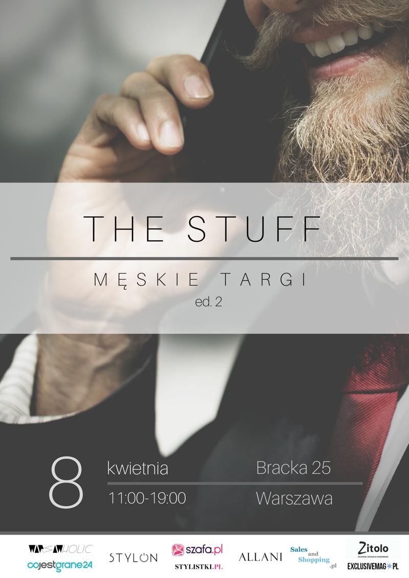 Męskie Targi The Stuff Warszawa 8 kwietnia 2018                         title=