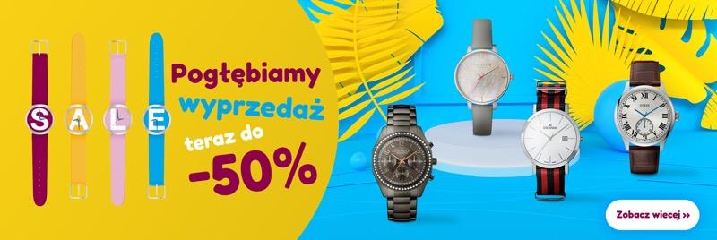 Time Trend: wyprzedaż do 50% rabatu na zegarki damskie, męskie i dziecięce