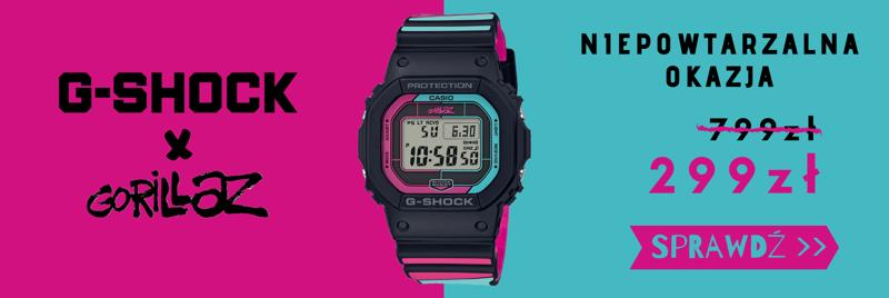 Time Trend: zegarek Casio G-Shock za 299 zł
