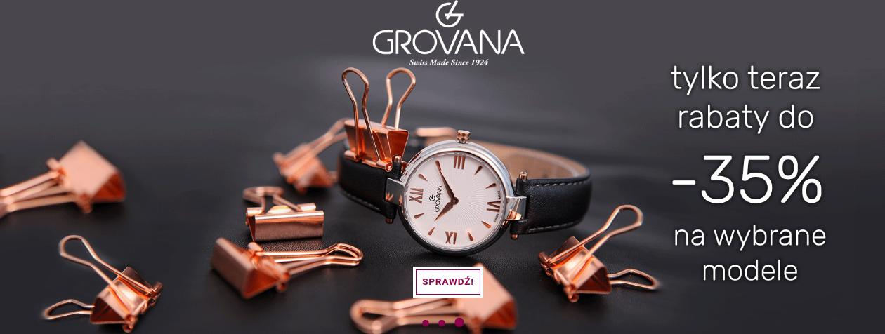 Time Trend: do 35% rabatu na wybrane modele zegarków Grovana