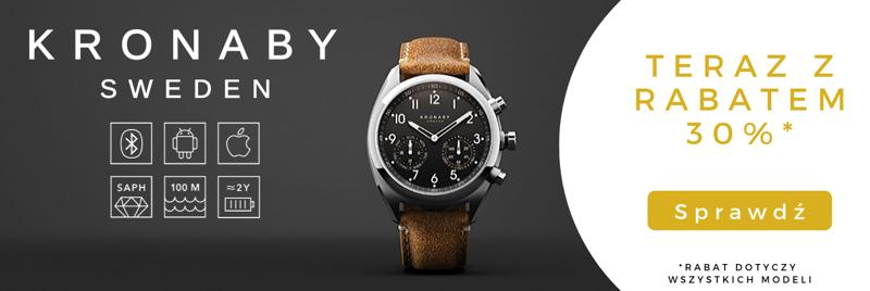 Time Trend: 30% zniżki na szwedzkie zegarki marki Kronaby