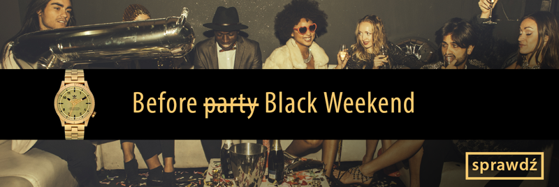 Time Trend: Black Weekend do 30% rabatu na zegarki damskie i męskie
