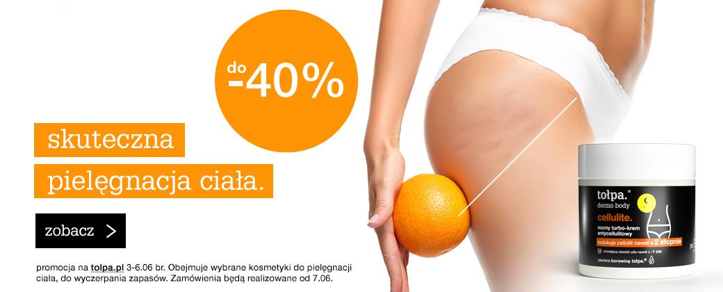Tołpa: do 40% zniżki na wybrane kosmetyki do pielęgnacji ciała