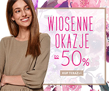 Top Secret: do 50% zniżki na odzież damską - wiosenne okazje