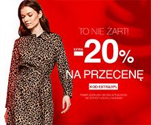 Top Secret: dodatkowe 20% zniżki na odzież damską z przeceny