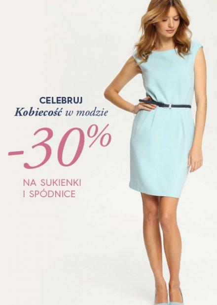 Top Secret: 30% zniżki na sukienki i spódnice
