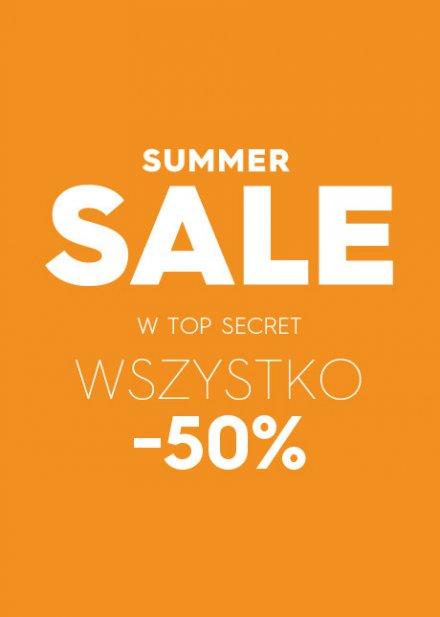 -50% na kolekcję wiosna/lato w Top Secret
