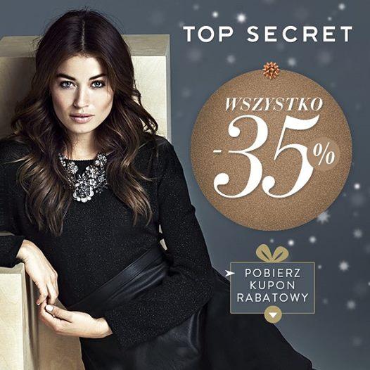 Top Secret: promocja 35% na wszystko z zimowej kolekcji