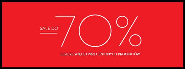 Top Secret: wyprzedaż do 70% zniżki