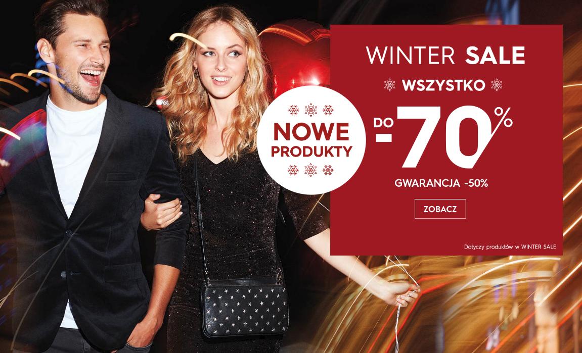 Top Secret: zimowa wyprzedaż od 50% do 70% rabatu na produkty z kategorii Winter Sale