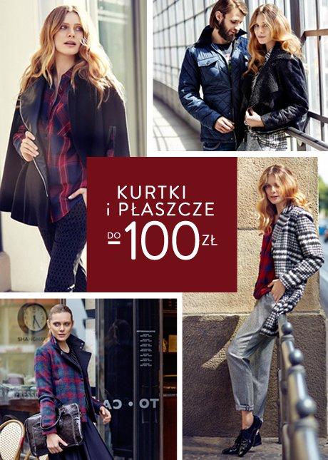 Kurtki i płaszcze do -100 zł zniżki w Top Secret