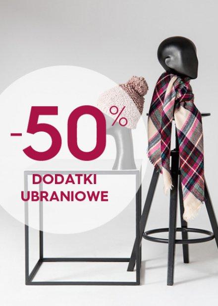 Top Secret: 50% zniżki na dodatki ubraniowe