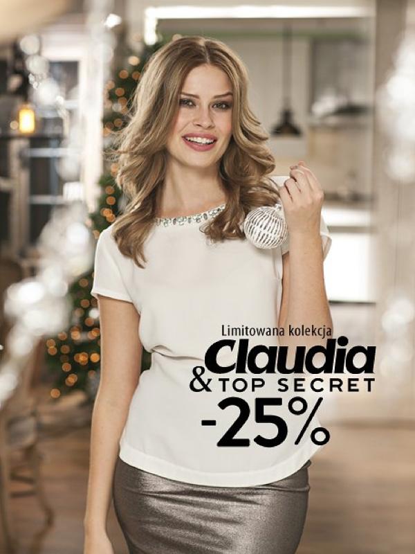 Top Secret: kupon 25% rabatu na limitowaną kolekcję Claudia&Top Secret