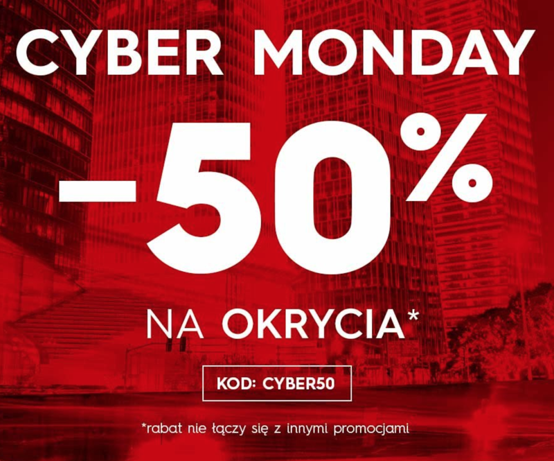 Cyber Monday Top Secret: 50% rabatu na okrycia