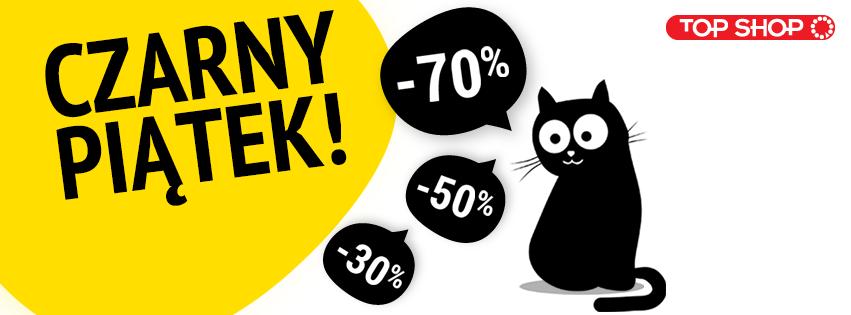 Black Friday w Top Shop: rabaty do 70% zniżki