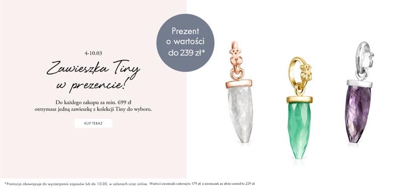Tous: przy zakupach za min. 699 zł, zawieszka Tiny w prezencie