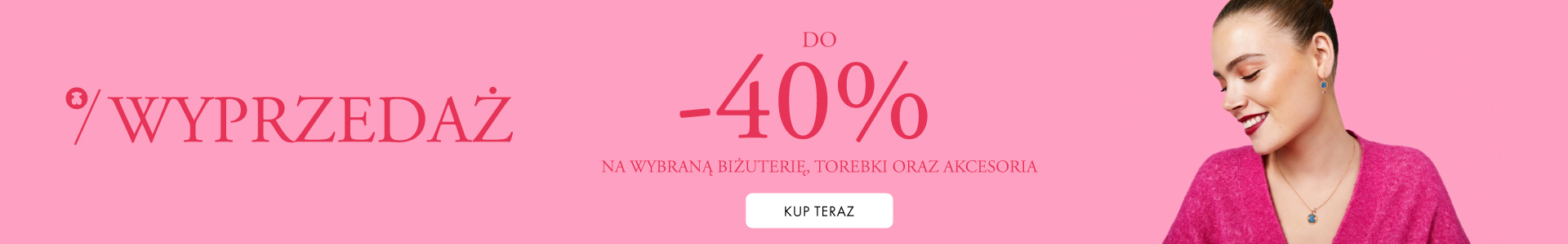 Tous: wyprzedaż do 40% rabatu na wybraną biżuterię, torebki oraz akcesoria