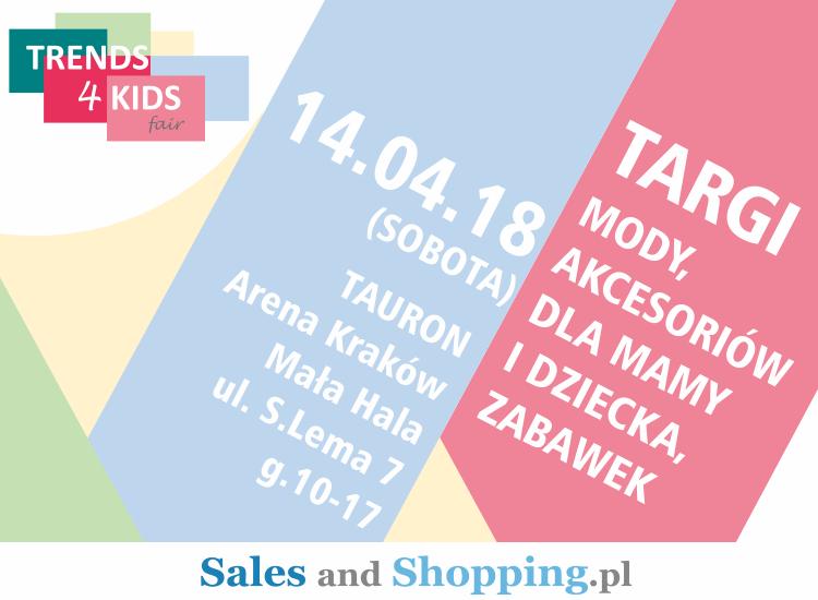 Targi Mody dla mamy i dziecka Trends 4 Kids 14 kwietnia 2018 w Krakowie                         title=