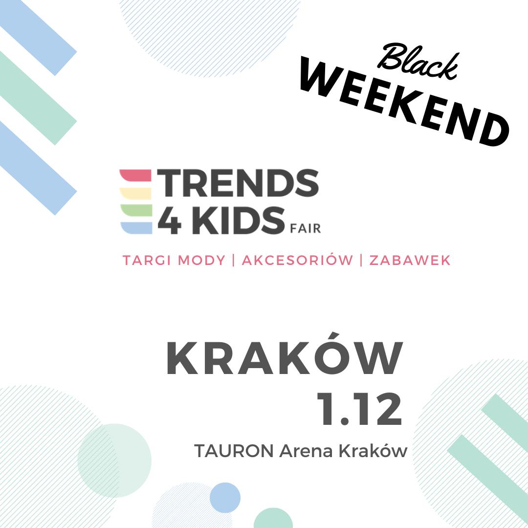 Targi Mody dla mamy i dziecka Trends 4 Kids - 1 grudnia 2019 w Krakowie                         title=