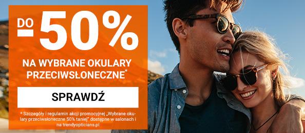 Trendy Opticians: do 50% rabatu na wybrane okulary przeciwsłoneczne
