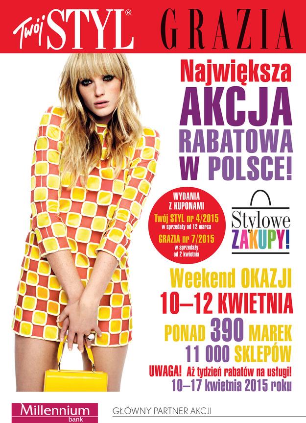 Stylowe Zakupy w całej Polsce 10-12 kwietnia 2015                          title=