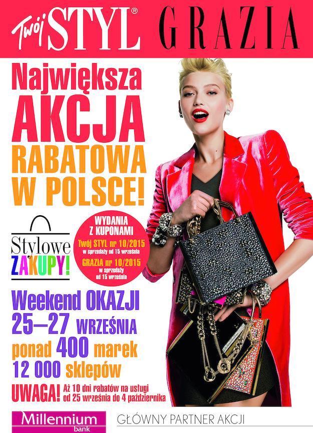 Stylowe Zakupy w całej Polsce 25-27 września 2015                         title=