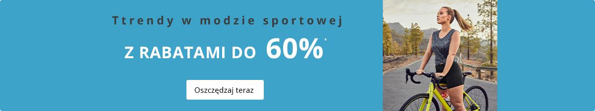 Ulla Popken Ulla Popken: do 60% zniżki na sportową odzież damską plus size
