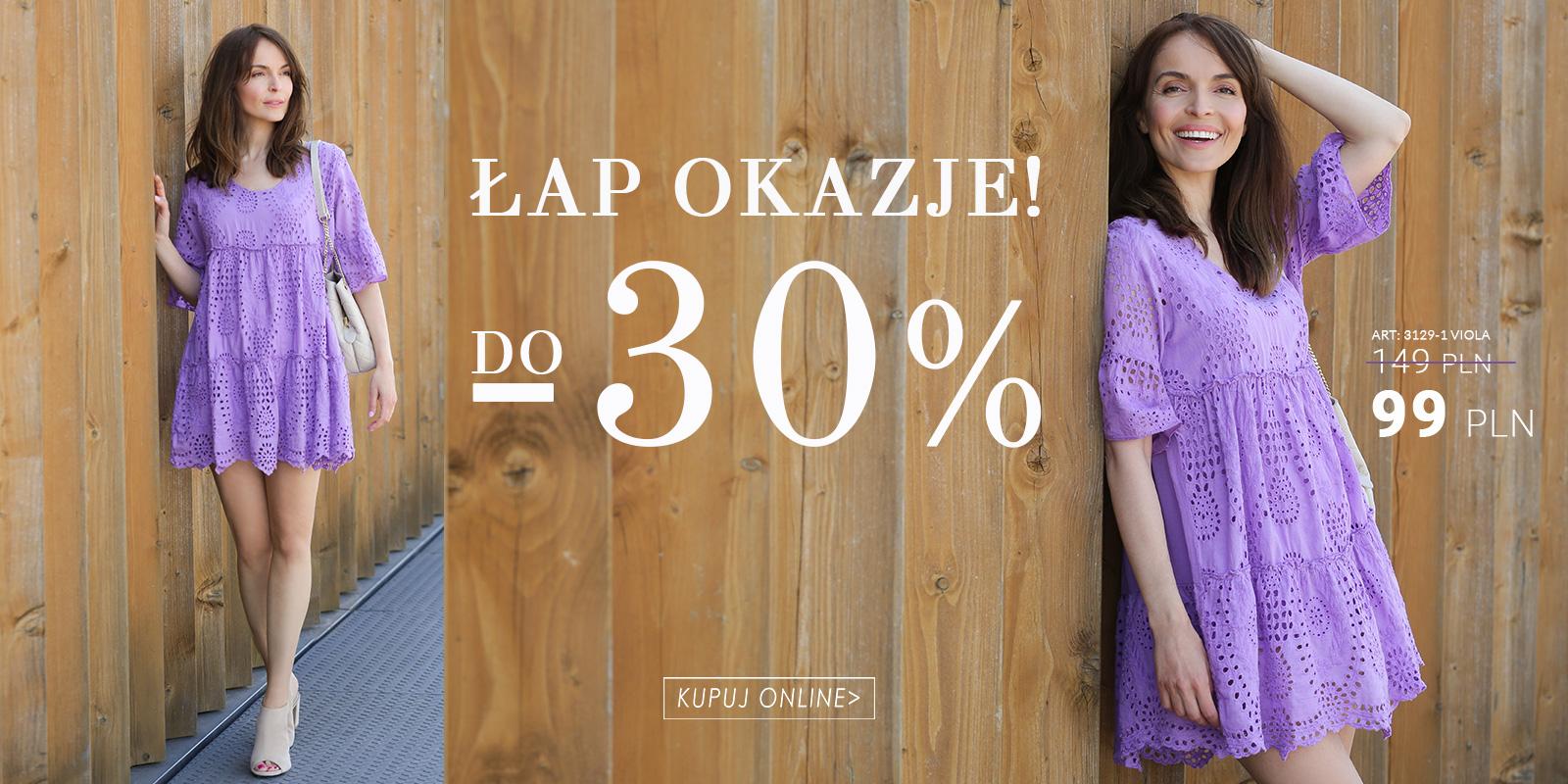 Unisono: do 30% rabatu na włoską odzież damską