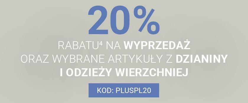 Van Graaf: 20% rabatu na produkty z wyprzedaży oraz wybrane dzianiny i odzież wierzchnią