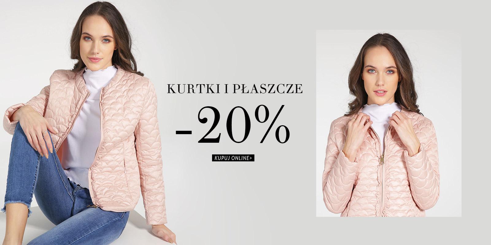Venezia: 20% rabatu na kurtki i płaszcze damskie