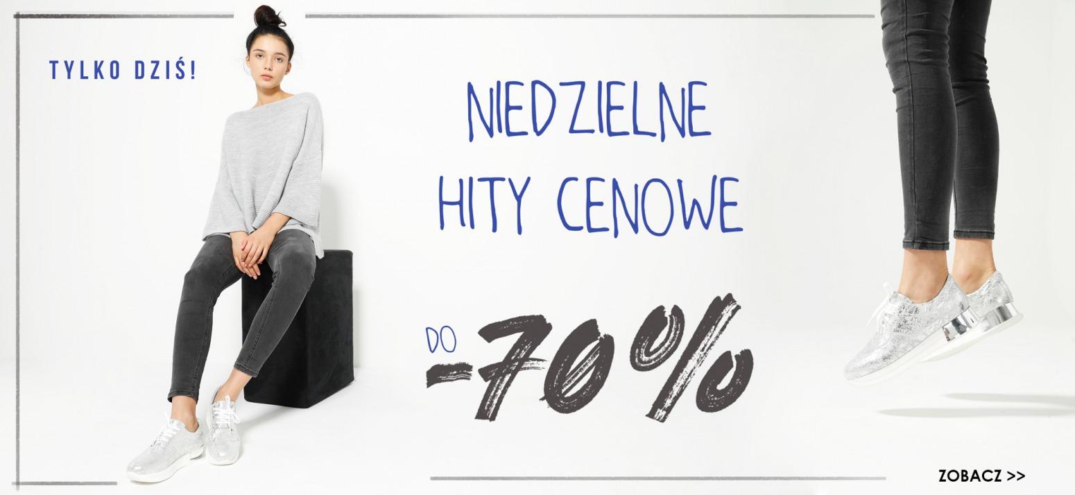 Venezia: do 70% zniżki na obuwie damskie
