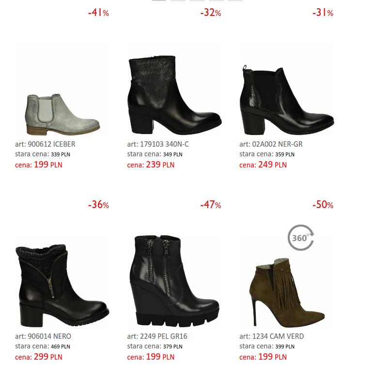 Venezia: do 50% zniżki na obuwie w kategorii super promocja