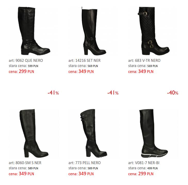 Venezia: do 50% rabatu na obuwie damskie i męskie